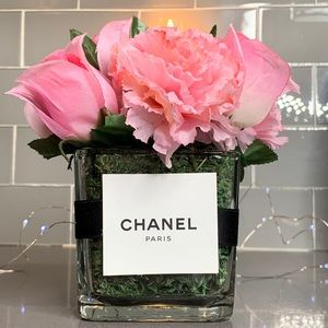💕🌷 Chanel Pink Flower Arrangement 🌷💕